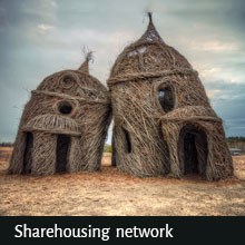 ecofriendly sharehousing network for vegans, vegetarians and environmentally aware peoples