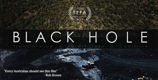 Environmental events - Black Hole Film Screenings