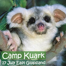 Environmental events - Camp Kuark, 17 July 2015 threatened species surveys and forest talks