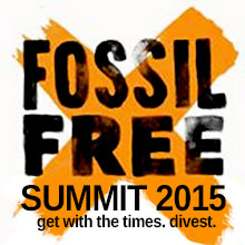 Environmental events - Fossil Free Summit 2015