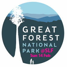 Environmental events - Great Forest National Park talk at the Sustainable Living Festival