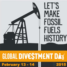 Environmental events - Global Divestment Day 2015