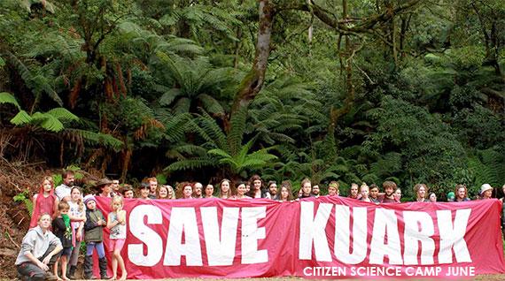 Environmental events Kuark citizen science camp June 2016