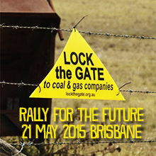 Environmental events - Lock the Gate Rally for the Future Brisbane