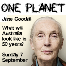 Environmental events - One Planet Event with Jane Goodall