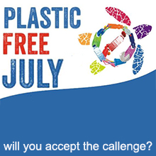 Environmental events - Plastic Free July