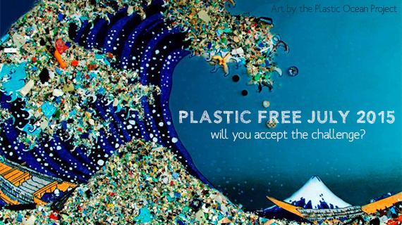 Environmental events - Plastic Free July 2015