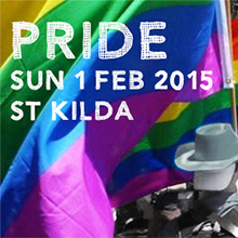 Environmental events - Pride March Melbourne