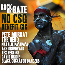 Environmental events - Rock the Gate No CSG Benefit Gig