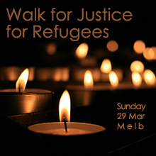 Environmental events - Walk for justice for refugees