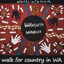 Environmental events - Walkatjurra-Walkabout WA One Month Walk for Country