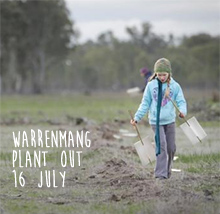Environmental events - Warrenmang plant out