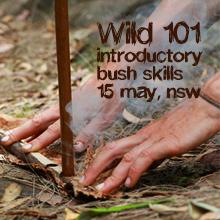 Environmental events - Wild 101 introductory bush skills, 15 May, NSW