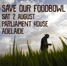 Environmental events - Save our Food Bowl