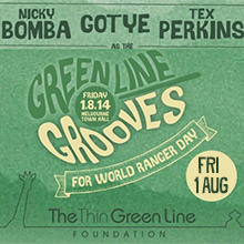 Environmental events - Greenline Grooves World Ranger Day Fest