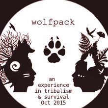 Environmental events - JWolfpack - an experience in tribalism and survival Oct 2015