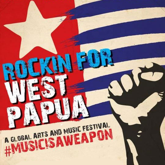 Environmental events - Rockin for West Papua