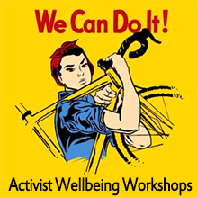 Environmental events - Activist Wellbeing Workshops - Plan to Thrive