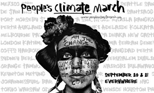 Environmental and social justice event - The People's Climate March