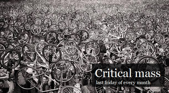 Environmental and social justice event - Critical Mass